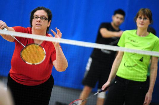 Group badminton