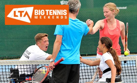 LTA big tennis weekends